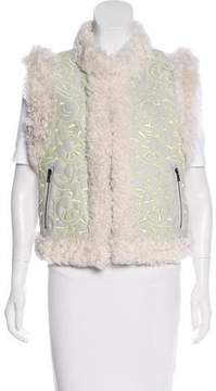 Drome Shearling Leather Vest