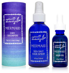 Captain Blankenship Mermaid Hair Care Set
