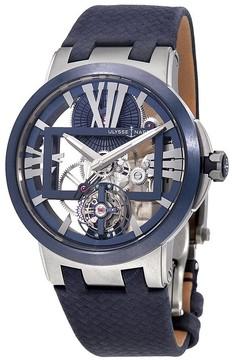 Ulysse Nardin Executive Skeleton Tourbillon Men's Hand Wound Watch