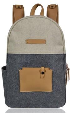 Sherpani Indie Boiled Wool Backpack - Grey
