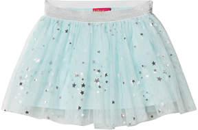 Kate Mack Biscotti Aqua with Silver Star Tutu Skirt