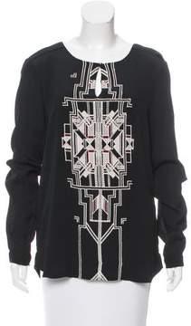 DAY Birger et Mikkelsen Embroidered Semi-Sheer Tunic