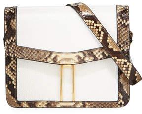 Hayward Mini H Python Crossbody Bag