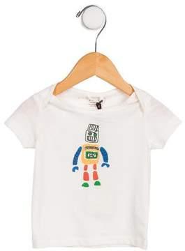 Stella McCartney Boys' Robot Printed Shirt