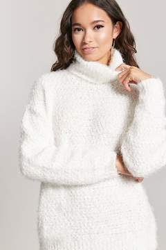 Forever 21 Fuzzy Knit Turtleneck Sweater
