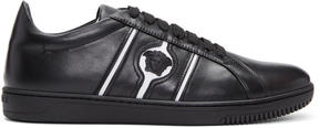 Versace Black and White Medusa Sneakers