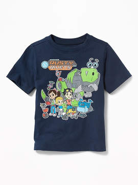 Old Navy Rusty Rivets Crew-Neck Tee for Toddler Boys
