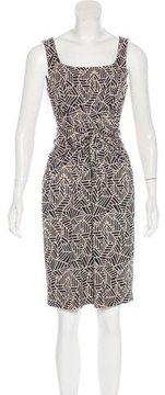 David Meister Sleeveless Knee-Length Dress
