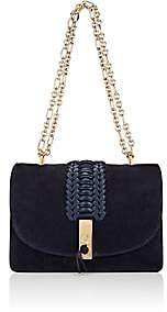 Altuzarra Women's Ghianda Flap-Front Shoulder Bag - Navy