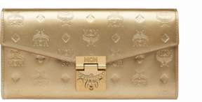 MCM Patricia Crossbody Wallet In Patent Leather