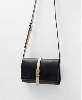 Express color block cross body bag