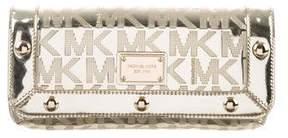 MICHAEL Michael Kors Delancy Leather Clutch