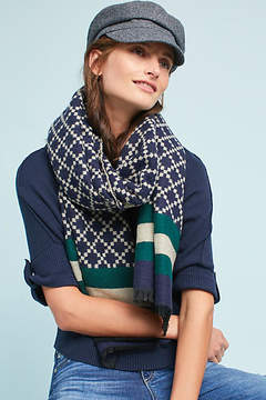 Shiraleah Striped & Checked Scarf