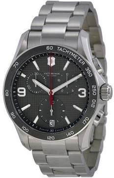 Victorinox Chrono Classic Stainless Steel Chronograph Mens Watch 241656