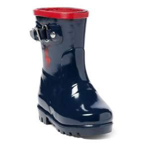 Ralph Lauren Ralph Rain Boot Navy/Red 4