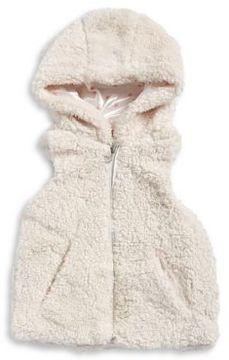 Urban Republic Girls Faux-Fur Hooded Vest