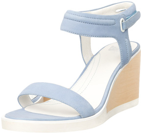 Camper Women's Limi Ankle-Wrap Wedge Sandal
