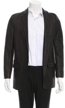 Alexander Wang Open Front Leather Jacket