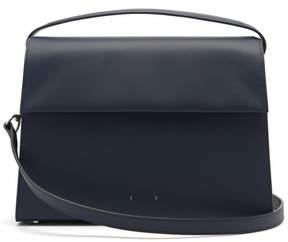 Pb 0110 Ab68 Leather Shoulder Bag - Womens - Navy
