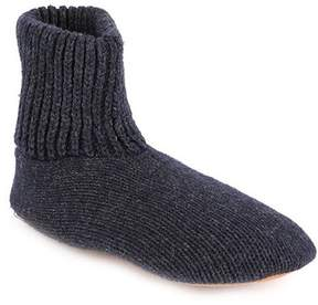 Muk Luks Men's Morty Knit Slipper Socks