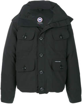 Canada Goose hooded buttoned coat