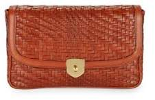 Cole Haan Woven Leather Clutch