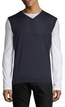 Orlebar Brown Rib-Trimmed Wool Sweater
