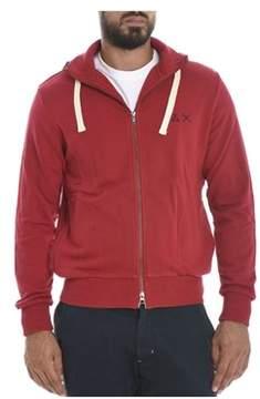 Sun 68 Men's Red Cotton Sweatshirt.