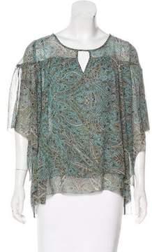 Calypso Silk Printed Blouse