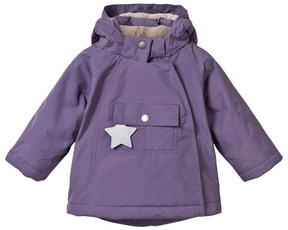 Mini A Ture Purple Wang Anorak with Pointed Hood