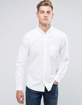 Jack Wills Wadsworth Regular Fit Oxford Shirt In White