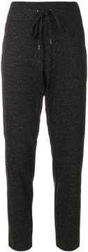 Cambio tie-waist track pants