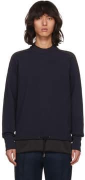 Diesel Black Gold Navy Drawstring Sweatshirt
