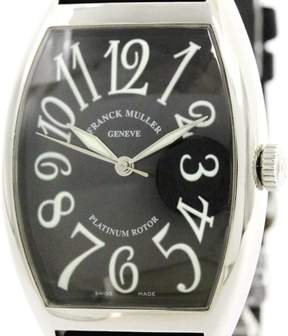 Franck Muller Cintree Curvex 6850SC Stainless Steel Automatic 34mm Mens Watch