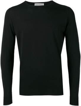 John Smedley crew-neck jumper