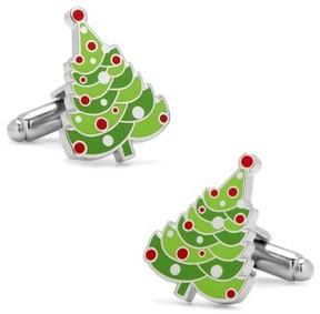 Cufflinks Inc. Men's Christmas Tree Cuff Links