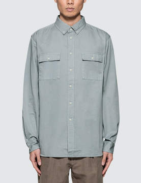 Saturdays NYC Angus Broken Twill L/S Shirt