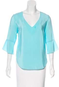 Amanda Uprichard Long Sleeve Top
