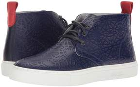 Del Toro High Top Laser Cut Chukka Sneaker Men's Shoes