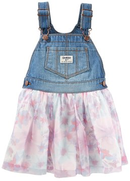 Osh Kosh Toddler Girl Floral Tulle Jumper