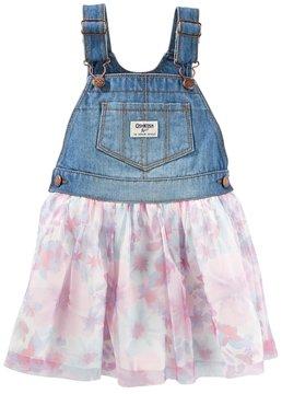 Osh Kosh Toddler Girl Floral Tulle Jumper