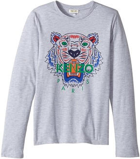 Kenzo Printed Long Sleeves Tee Shirt Boy's T Shirt