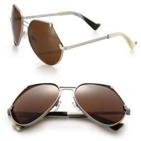 Grey Ant Embassy 60MM Cutoff Sunglasses