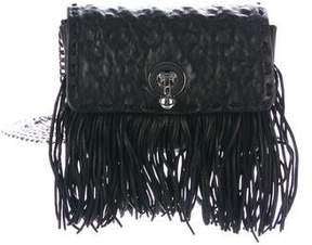 Ermanno Scervino Mini Fringe Faubourg Crossbody Bag