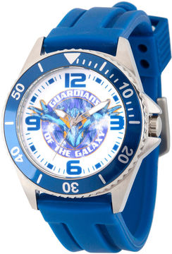 Marvel Guardian Of The Galaxy Mens Blue Strap Watch-Wma000099