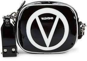 Mario Valentino Valentino by Women's Nina Patent Leather Crossbody Bag