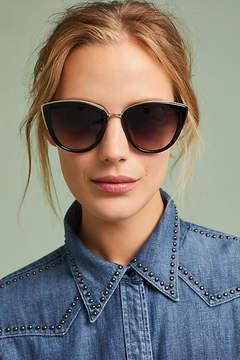 Anthropologie Shoreline Cat-Eye Sunglasses
