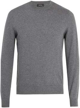 A.P.C. Thierry cotton-blend sweater