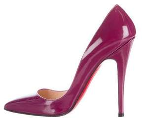 Christian Louboutin Batignolles Patent Leather Pumps