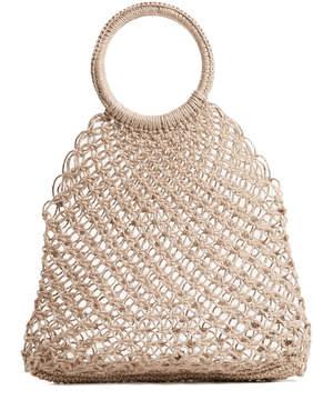 Elizabeth and James Medium Alfonso Straw Tote Bag